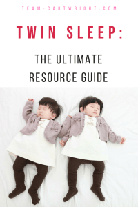 Your twins will sleep! Here are tips and tricks from a real twin mom to help you and your twins sleep. Help for short naps to sleep training and everything in between. #twins #sleep #naps #training #CIO #shortnaps #schedule #baby #newborn #toddler Team-Cartwright.com