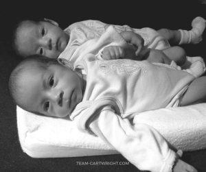 How do you get your twins on a schedule? The second step is to wake your twins up to eat and then have a bedtime routine. Twin wake times and bedtime routine suggestions. #twinschedules #twinwaketimes #bedtimeroutines #twins #babywise #babywiseschedules Team-Cartwright.com