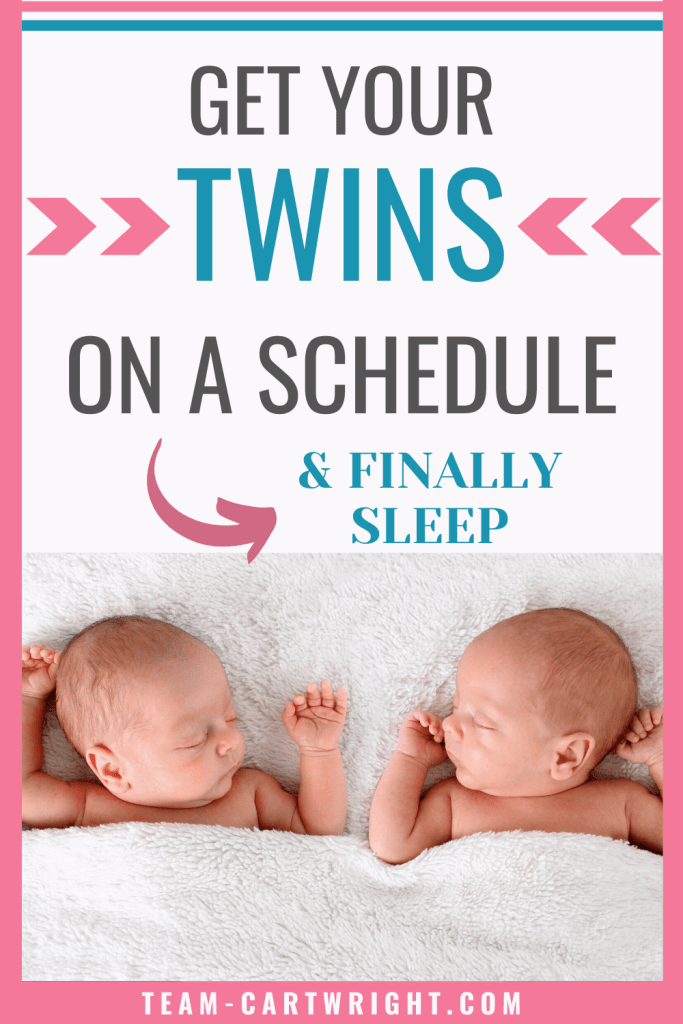 Get Your Twins on a Schedule and Finally Sleep