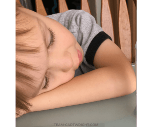 Rest time for preschoolers. Resting child. Learn why preschoolers need rest time and how it benefits the whole family. Plus get activities for your child in quiet time! #rest #quiet #preschool #schedule #nap Team-Cartwright.com