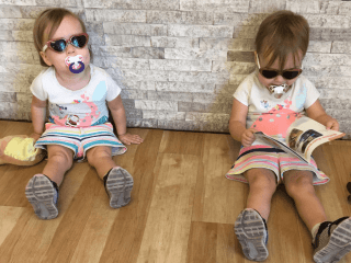 What is life with toddler twins like? Loud, fun, trying, joyful. It's everything and more. Learn what you have in store for you when your twins turn 2. #ToddlerTwins #TwoYearOldTwins #TwinLife #TwinTips #TwinPottyTraining #TwinSleep #TwinFights #TwinTantrums Team-Cartwright.com