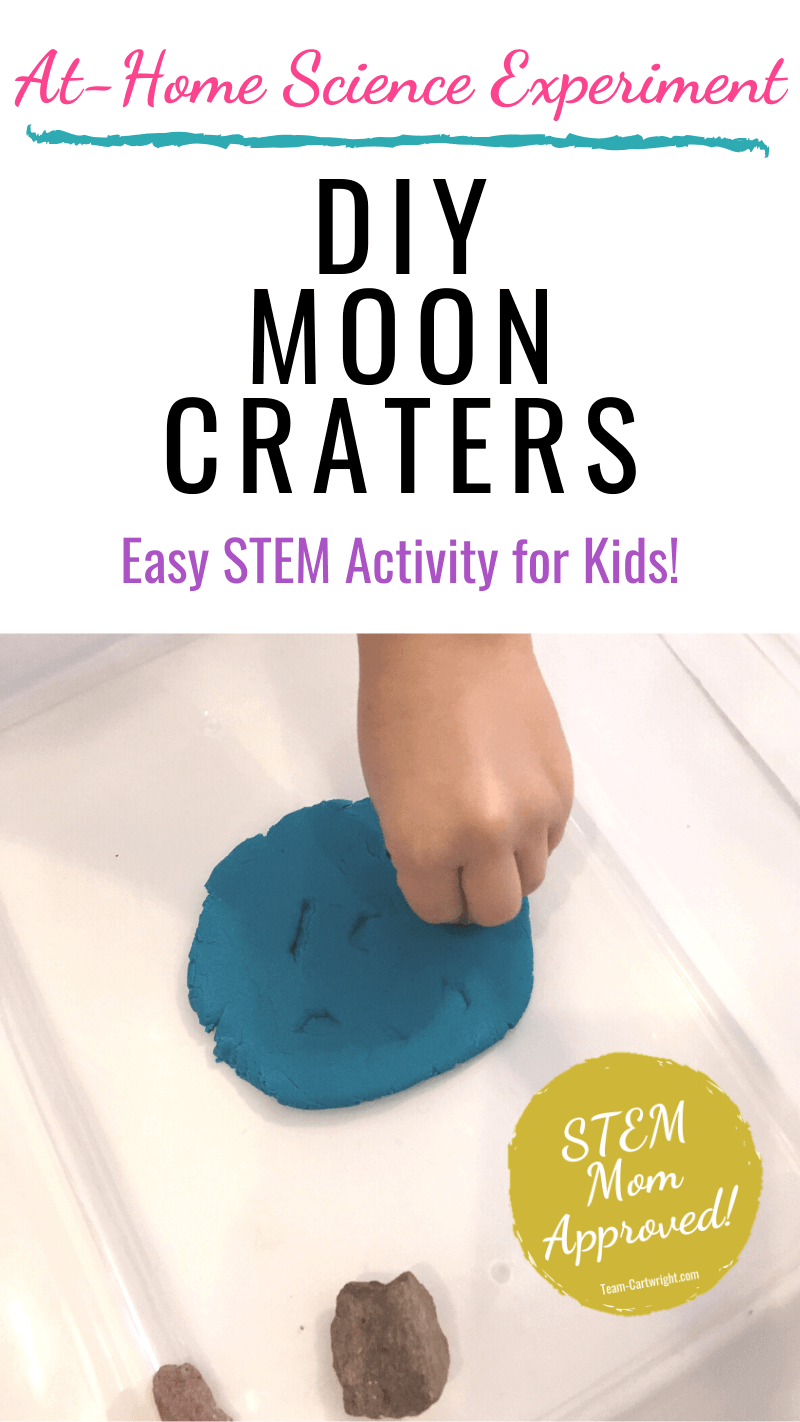 How to make DIY Moon Craters At Home STEM Activities for Kids