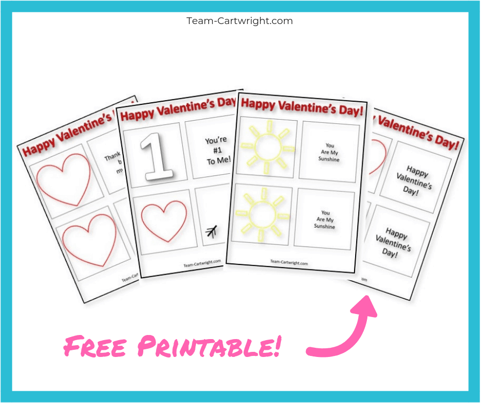photograph relating to Thaumatrope Printable named Valentines Working day Thaumatropes for Little ones! - Personnel Cartwright