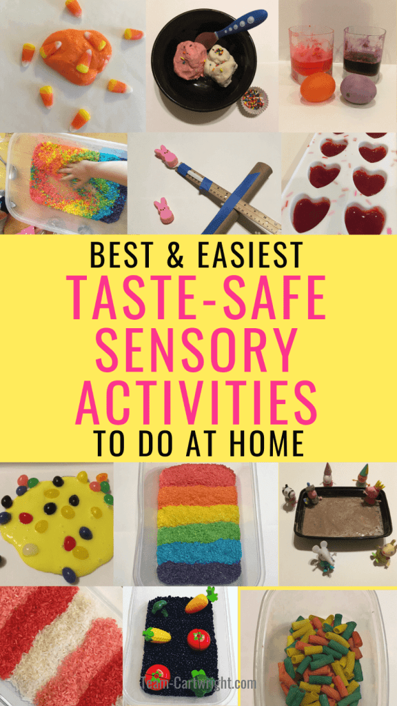 Best and Easiest Taste-Safe Sensory Activities To Do At Home