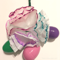 Ink Chromatography Easter Decorations for Kids