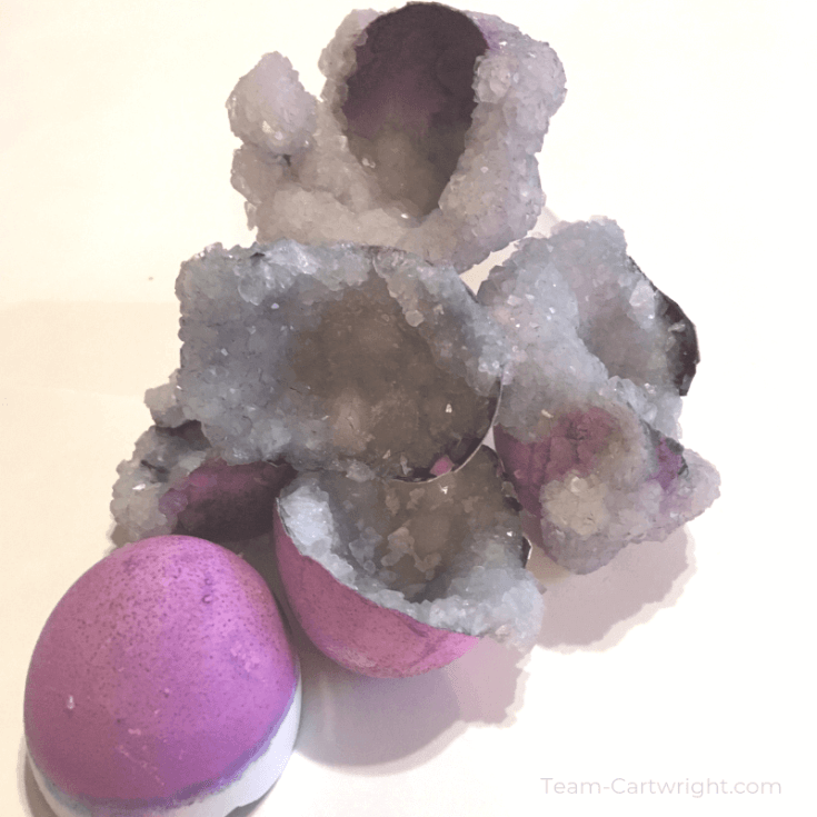 Easter Egg Geodes for Kids