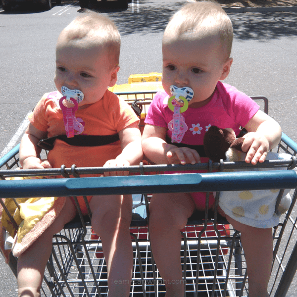 How To Grocery Shop with Twins