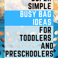 Busy Bags: Keeping Kids Entertained So Mom Can Be Productive