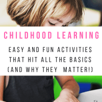 Childhood Learning Basics : Why They Matter