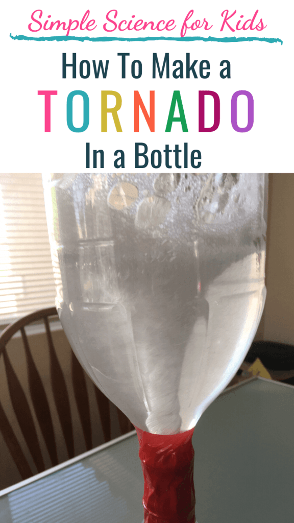 Simple Science for Kids: How To Make a Tornado in a Bottle