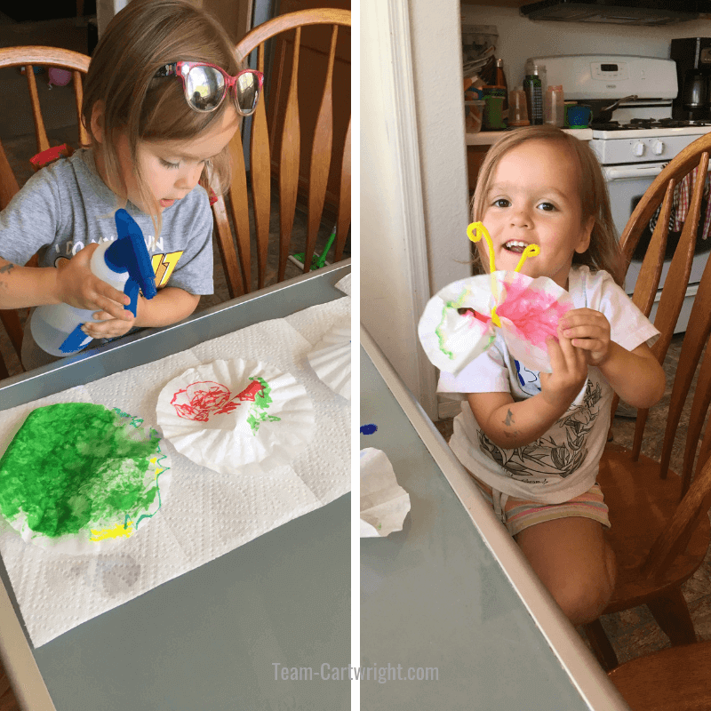 How to make chromatography butterflies at home!