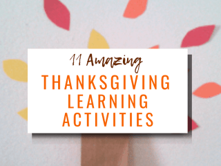 11 amazing Thanksgiving learning activities with picture of a thankful tree