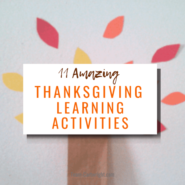 Thanksgiving Learning Activities and STEM Activities