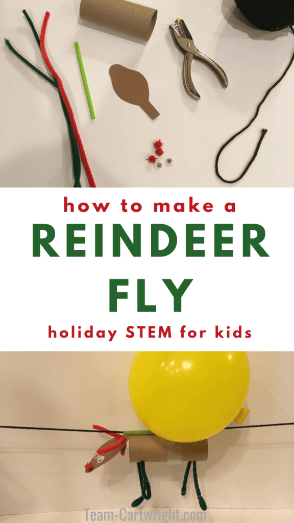 How To Make a Reindeer Fly: Holiday STEM for Kids