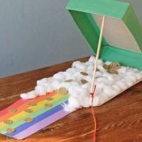 Cereal Box Leprechaun Trap: a fun St. Patrick's Day craft for kids