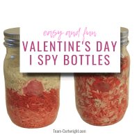 I Spy Bottles: Engaging Sensory Independent Play