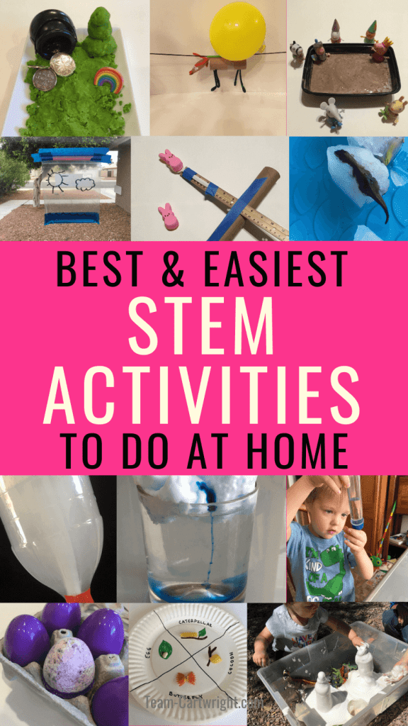 Best and Easiest STEM Activities to do at home