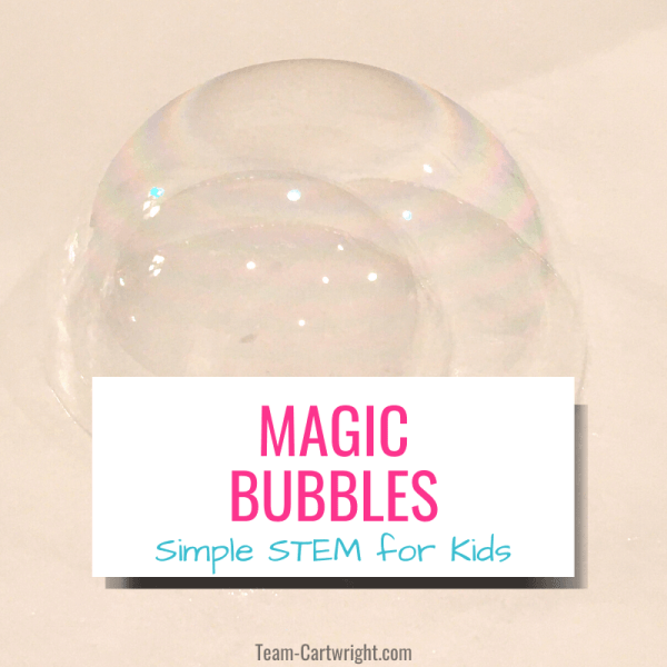 How To Make DIY Magic Unpoppable Bubbles
