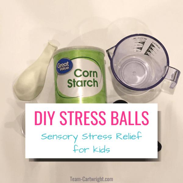 Non-Newtonian DIY Stress Balls for Kids