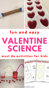 fun and easy Valentine science must do activities for kids