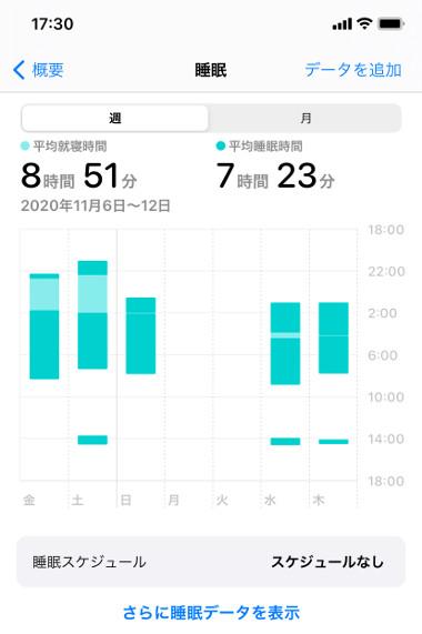 睡眠アプリ純正