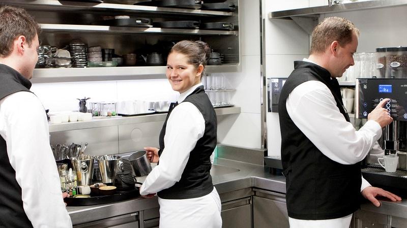 Restaurantteam