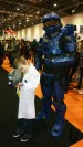 MCM Comic Con, London, event, costume, cosplay, Halo 5, Ethan, Brainiac