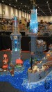 BRICK, LEGO, event, expo, bricks, display table, steampunk, tower, lights