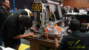 Working on the robot