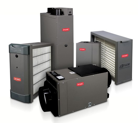 Bryant indoor air quality improvement technology