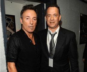 Bruce e Tom Hanks