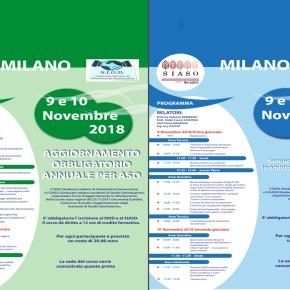 9/10 novembre: nuovi corsi in vista