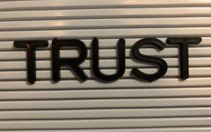 Trust & Forgiveness