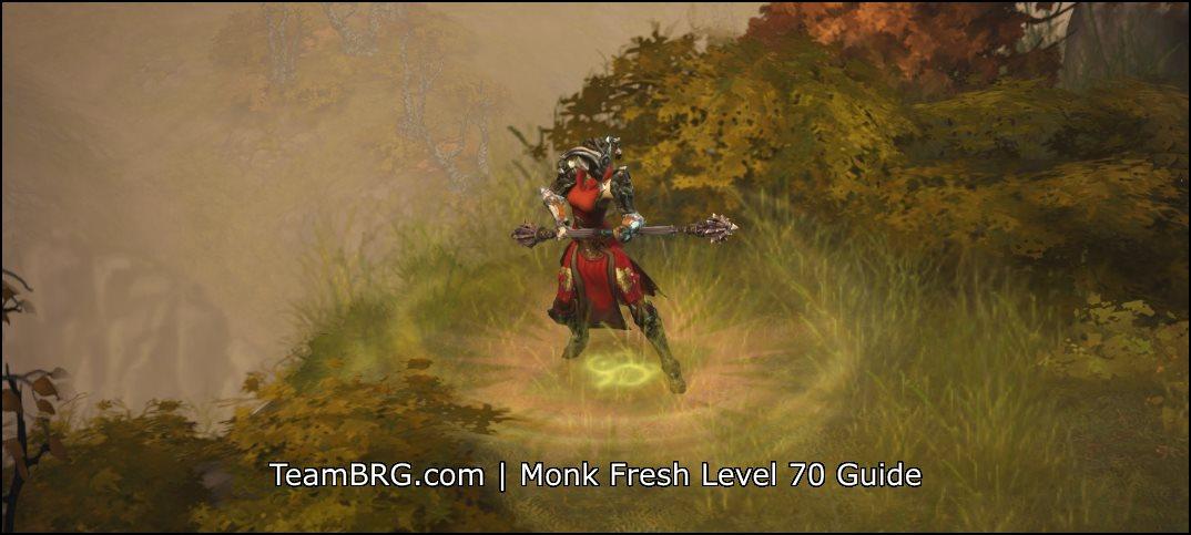 Fresh 70 Monk Build