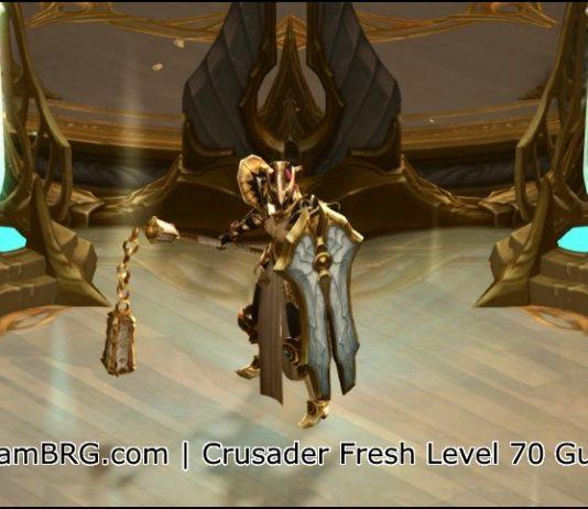 Fresh 70 Crusader Build