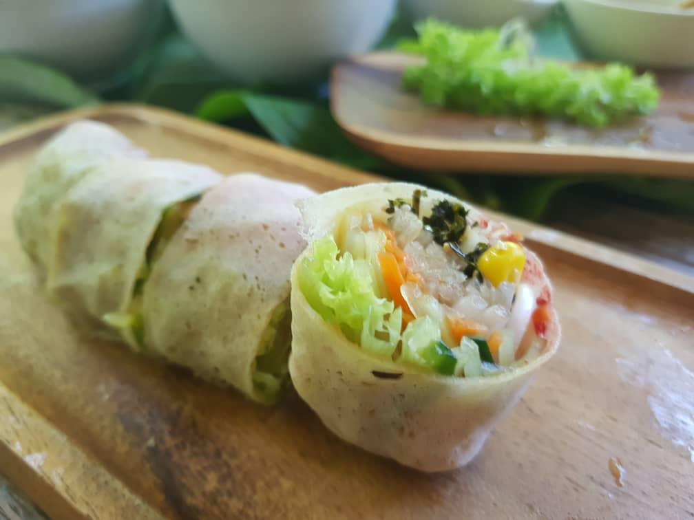 Popiah Chinese Tradisional Cuisine