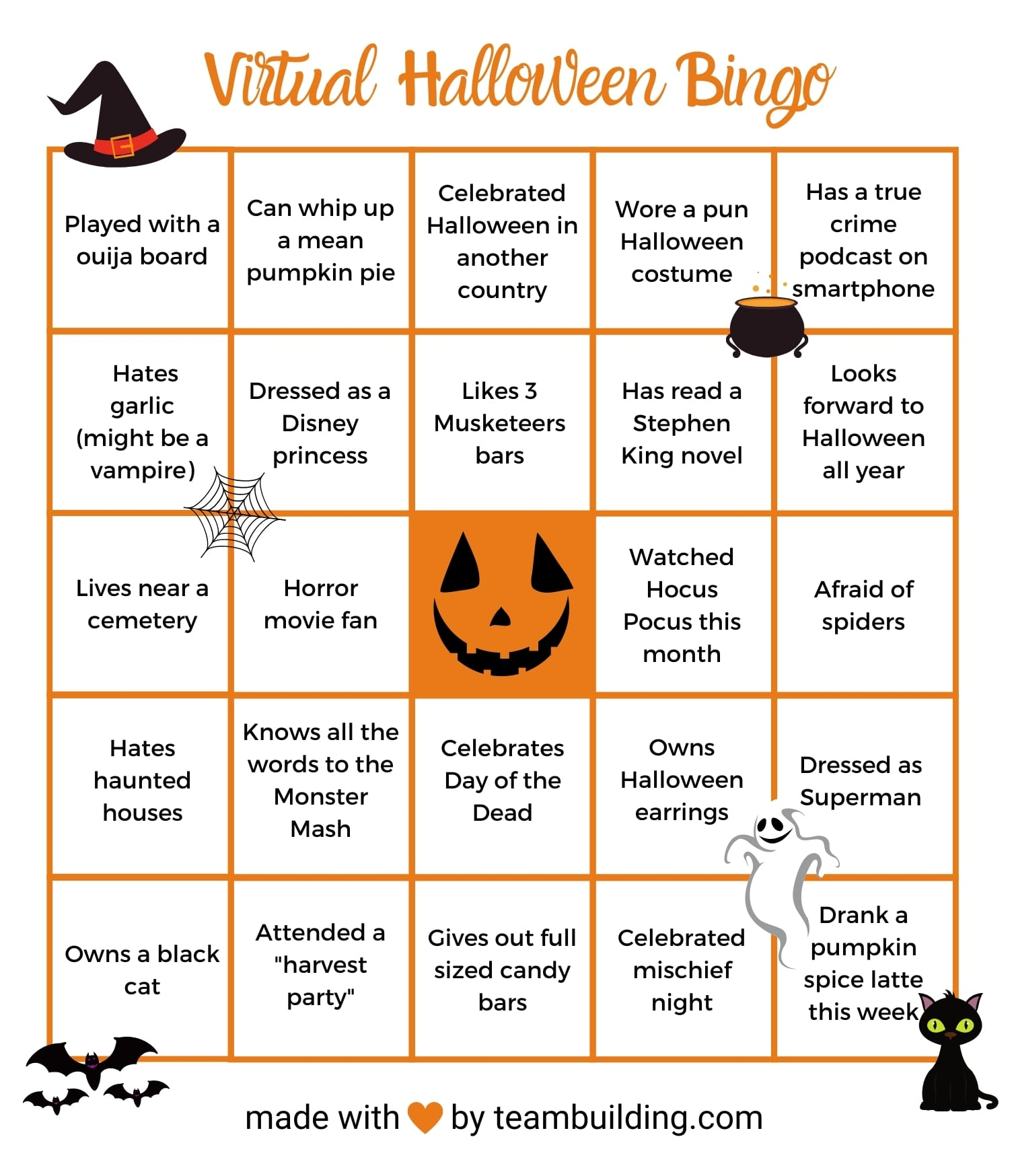 Virtual Halloween Party Ideas Activities Amp Games For