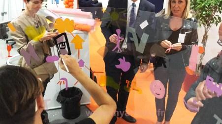 participants fresque animation inaugurale