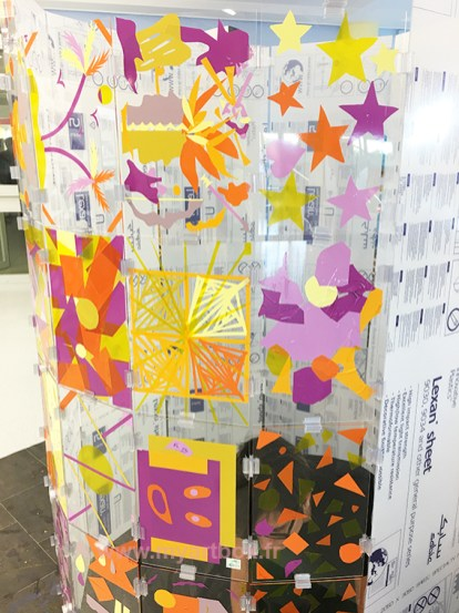creation my art box avec patients et collaborateur hopital