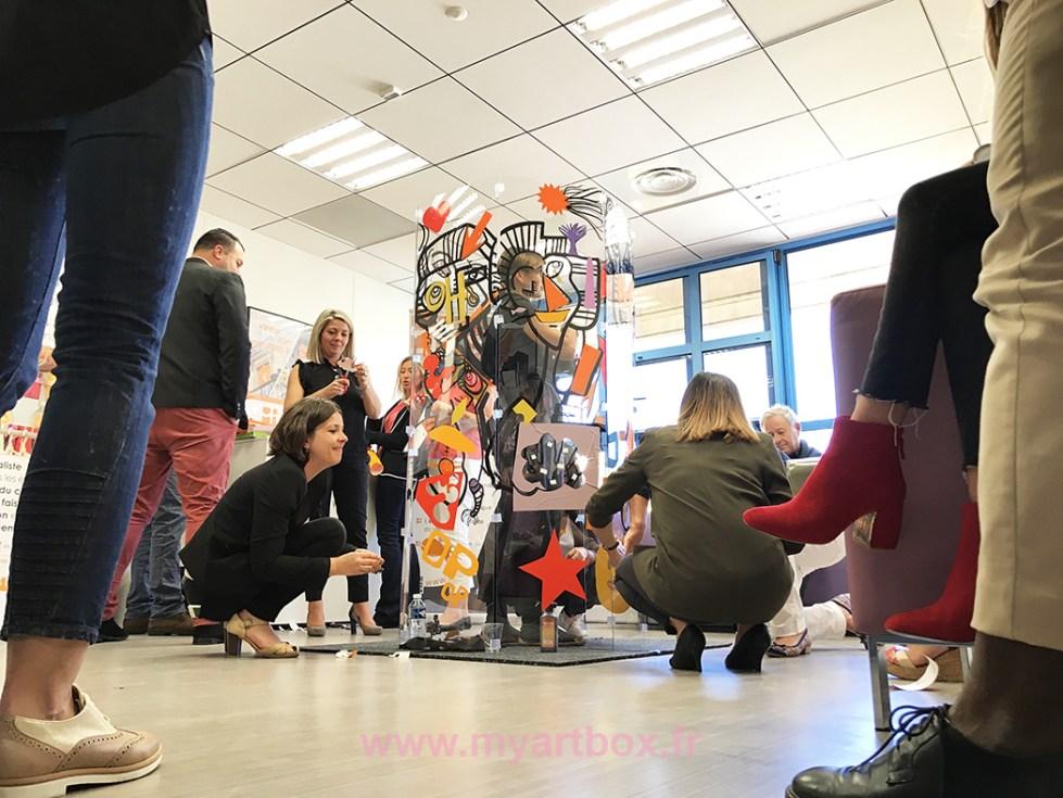 fresque animation participative team building