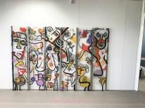 fresque animation inauguration my art box