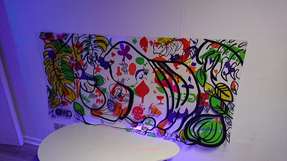 fresque de cupkiller avec my art box
