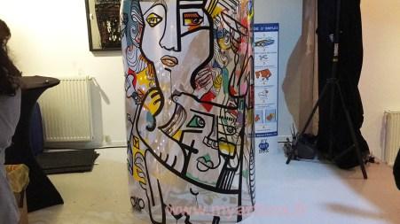 fresque participative de my art box
