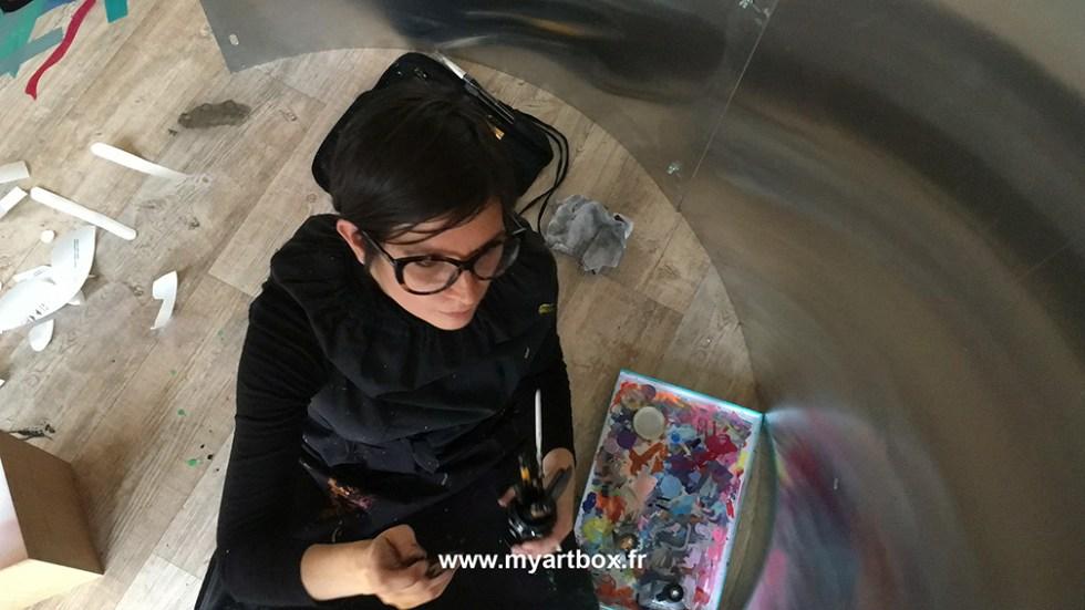 animation fresque avec my art box