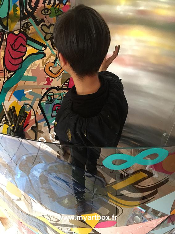 fresque collective sur lyon
