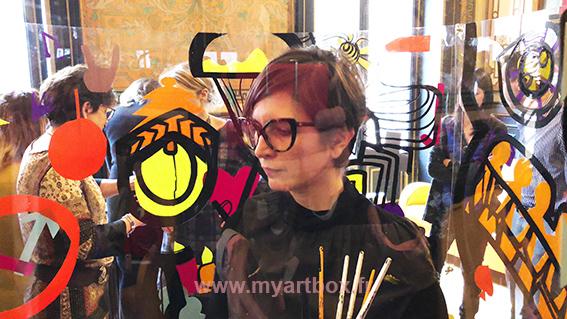 team building fresque à Lyon