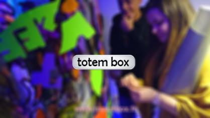 totem box pour animation artistique