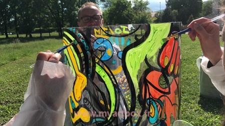 team building peinture fresque