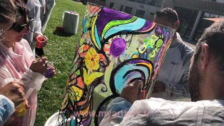 team building peinture