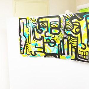 animaiton fresque Lyon